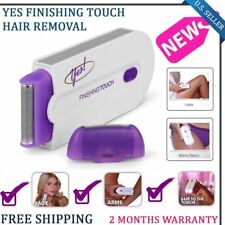 YES Finishing Hair Remover Touch Instant Pain Free Hair Removal Safely Shaver US