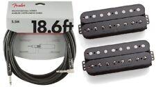 Seymour Duncan Pegasus & Sentient 8 String Humbucker Black Set ( FENDER 18FT )