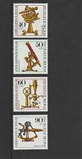GERMANY - BERLIN  - 1981 - OPTICAL INSTRUMENTS - SET (4V)  - MNH