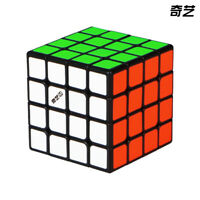 New QiYi MS 4x4x4 Magnetic Cube MoFangGe Speed Magic Cube Puzzle Toy Black