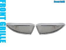 04 05 MITSUBISHI LANCER MESH FRONT HOOD BUMPER GRILL GRILLE (CHROME)