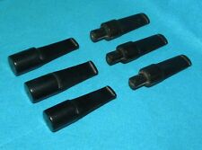 6 NEW STEMS-MOUTHPIECES FOR PIPES PIPA PFEIFEN MADE ITALY sabble 23-24 mm.