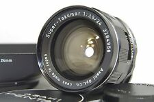 Pentax Super-Takumar 24mm F/3.5 MF Wide Angle Prime Lens SN3284956 for M42