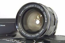 Pentax Super-Takumar 24mm F/3.5 MF Wide Angle Prime Lens SN3284956 for M42