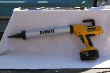DEWALT 18V Sausage Adhesive Gun 600ml Caulk Cordless 2 Batteries and Charger