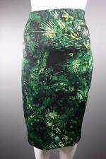 Pencil Skirt UK Size 10 (EUR 38) Green Knee length