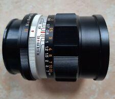 Konica Hexanon AR 35mm F 2.8 lens