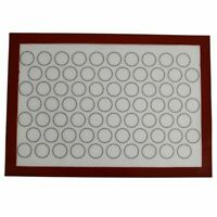 Silicone Baking Mat Home Non Stick Oven Pastry Macaron Cake Sheet Kitchen New