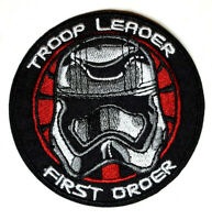 """Star Wars First Order 3"""" Troop Leader Embroidered Patch-USA Mailed(SWPA-FA-10-A)"""