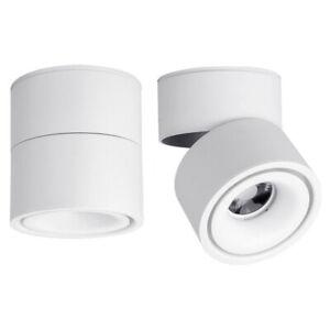 LED Ceiling Wall Spotlight 360°Adjustable-10W Surface Mounted COB Lighting