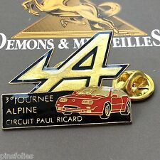 Pin's Folies *** Demons 3eme Journée Alpine Renault Circuit P Ricard Voiture