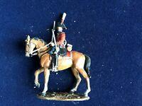 SOLDAT DE PLOMB CAVALIER EMPIRE OFFICIER 5è DRAGONS DE LA GARDE GB 1812