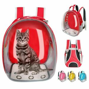 Cat Pet Portable Travel Carrier Dog Backpack Puppy Space Capsule Breathable Bag