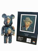 Bearbrick Van Gogh self-portrait Bear Brick Fashion Toy Vinyl  2021 28CM 400%