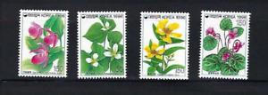 Korea 1996  Flower Flowers  Series  Stamp