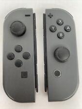 GRAY JOYCONS ⚡️ Nintendo Switch Joy-Con Controllers 🎮 Pair (Left & Right, L/R)