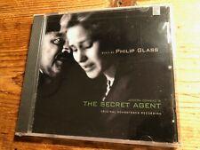 THE SECRET AGENT (Philip Glass) OOP 1996 Score Soundtrack OST CD SEALED
