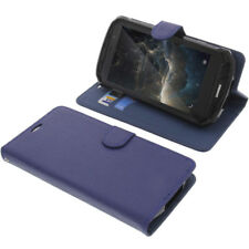 Funda para DOOGEE S60 Book Style protectora Teléfono móvil estilo libro AZUL