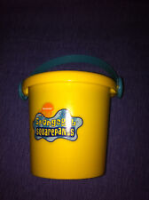 SpongeBob Squarepants Sand or Trick-or-Treat Pail 2002 New