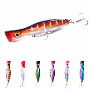 Large Fishing Bait 17cm/83g Saltwater Popper Fishing Lure Bass Wobbler Hooks
