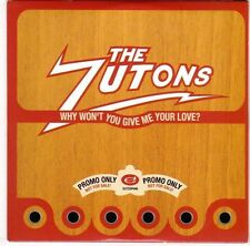 (EL231) The Zutons, Why Won't You Give Me Your Love? - 2006 DJ CD