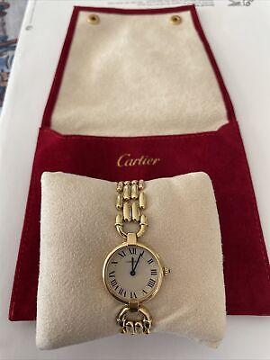 Montre Cartier Vendome 18 K