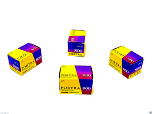 1 x Roll FRESH KODAK  PORTRA 800 COLOUR NEG Film--35mm/36 exps--expiry: 09/2021