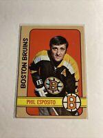 Phil Esposito BOSTON BRUINS CARD #150 1972-73 T4-337
