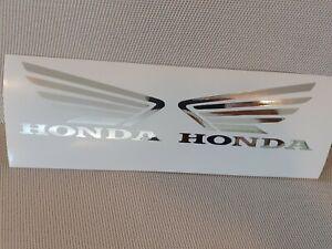 -Hochwertige Premium Honda Motorrad Aufkleber-Sticker in Chrom-