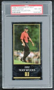 Tiger Woods 1998 Champions Of Golf The Masters Collection Rookie RC PSA 8  READ