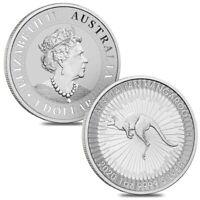 2020 SILVER BULLION DOLLAR  AUSTRALIAN KANGAROO 1oz COIN IN INVESTMENT x1