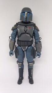 "Star Wars Black Series Mandalorian Loyalist 6"" Figure Loose Walmart Exclusive"