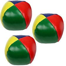 3er Set Jonglierbälle Beanbags 65mm zum jonglieren 3 Stück Jonglage Zirkus Bälle