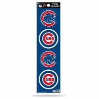 Chicago Cubs Decal Car Sticker The Quad 4 Pack Stickers Set