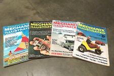 Mechanix Illustrated Magazine/Journal   (March, April, May, & August 1970)