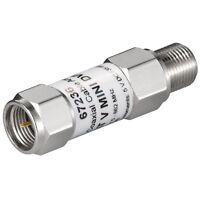 Mini Koaxial Antennen SAT LNB Signalverstärker Verstärker F-Kupplung Stecker