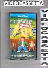 RICREAZIONE - LA SCUOLA E' FINITA- VHS WALT DISNEY