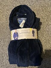 NEW with tags Tommy Bahama plush blue robe with Pockets size S/M