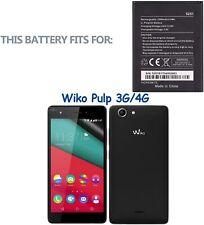 Batteria per WIKO PULP 3G - PULP 4G - ROBBY da 2500mAh - Cod 5251, Cod.3913  NEW
