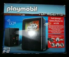 Playmobil 4879 Top Agents Spying Camera Set *New*