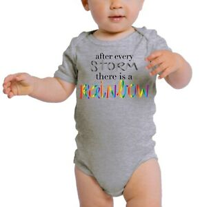Rainbow Baby One-Piece Newborn Rompers, Jumpsuit Baby Clothing - After the Storm