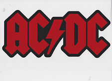 AC/DC - Permanent vinyl decal