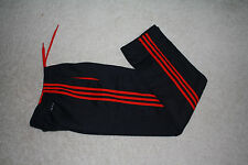 New Adidas Tech Fleece sweat Pant three stripes AI1397 Black/Red L large`