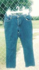 Twenty X Wrangler Womens Jeans 11/12x 32 button fly Straight Leg Medium Wash