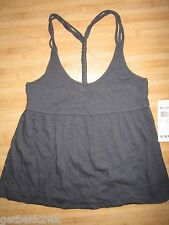 NEW* ROXY SURF TANK TOP CAMI SHIRT Size S GREY