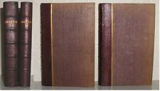 1830 POETICAL WORKS OF JAMES THOMSON 2 VOLUMES LEATHER