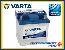 BATTERIA VARTA B36 B35 CUBETTO FIAT 500 PANDA PUNTO SEICENTO EVO 0092S40001