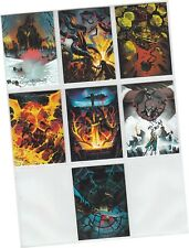 """Game Of Thrones Season 7 (Seven) - 7 Card """"Beautiful Death"""" Chase Set BD61-BD69"""