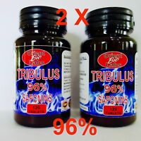 240 PILL TRIBULUS TERRESTRIS Max 96% Saponins-Testosteron booster-Muscle Mass