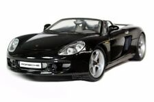 PORSCHE CARRERA GT DIE CAST MODEL 1/18 BLACK BY MAISTO PREMIERE EDITION 36622